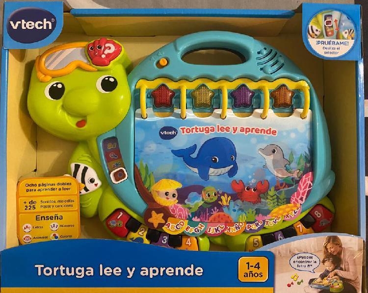 Juguete tortuga lee y aprende