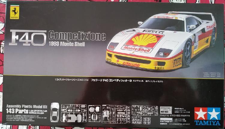 Maqueta de coche tamiya 1:24 ref# 24284