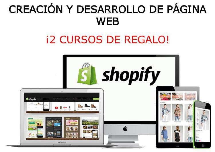 Negocio online con shopify