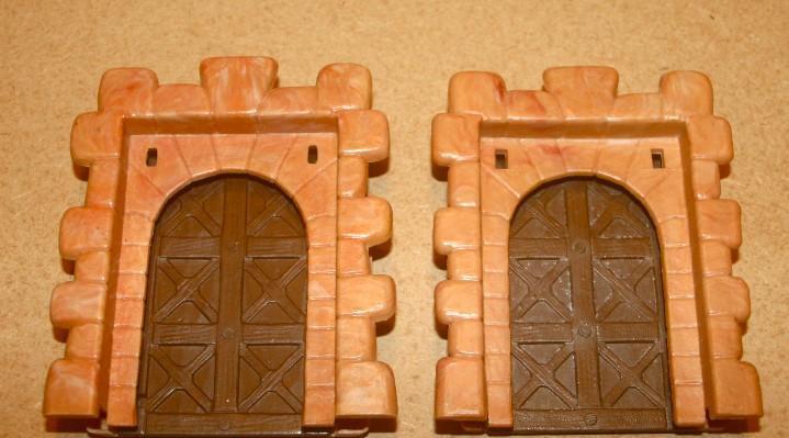 Oferta: 2 puertas grandes tonos ocres, exin lines bros, elb,