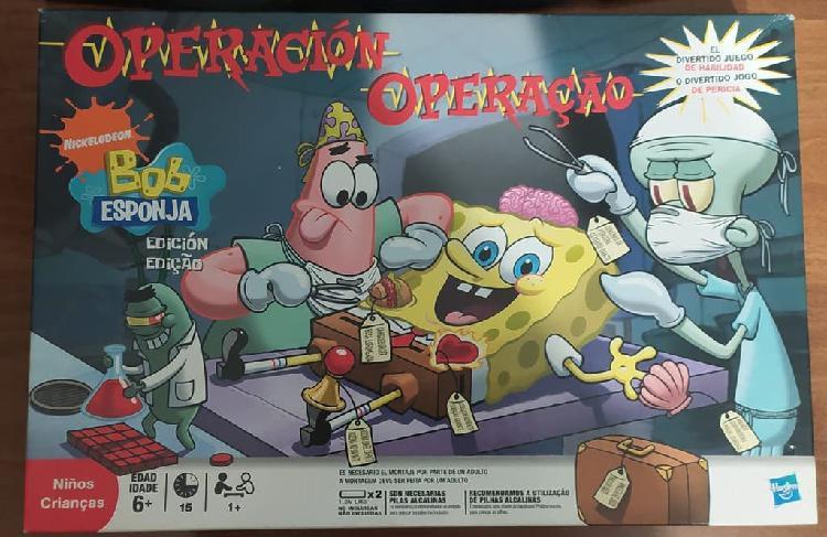 Operacion bob esponja - juego mesa