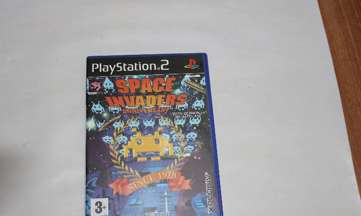 Play station 2 space invaders- anniversary