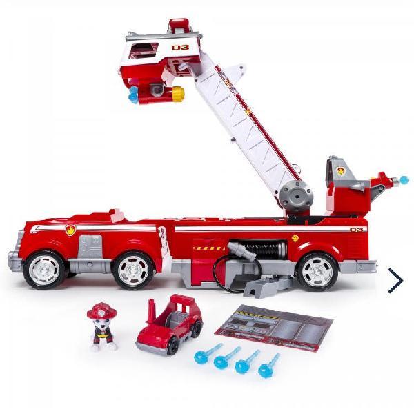 Paw patrol camión bomberos