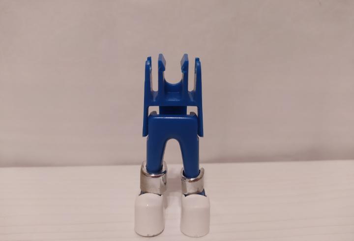 Piezas de repuesto, cuerpo playmobil geobra. astronauta sin