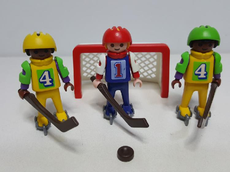 Playmobil 3685 antiguo set equipo hockey hielo
