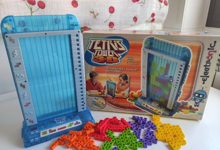 Tetris power 3d de famosa 2005