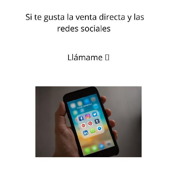 Venta directa y redes sociales