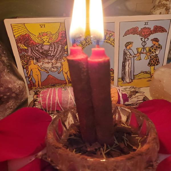 Amor encuadernación, compromiso, pasión, love union candle