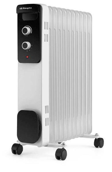 Orbegozo ro 2520 - radiador de aceite de 2500w 11 elementos