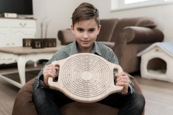 Tablero de actividad de juguete labyrinto para juguete