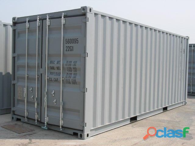 Contenedores ISO marítimos y refrigerados