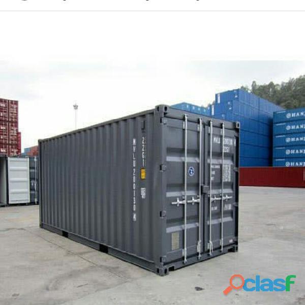 Contenedores ISO marítimos y refrigerados 1