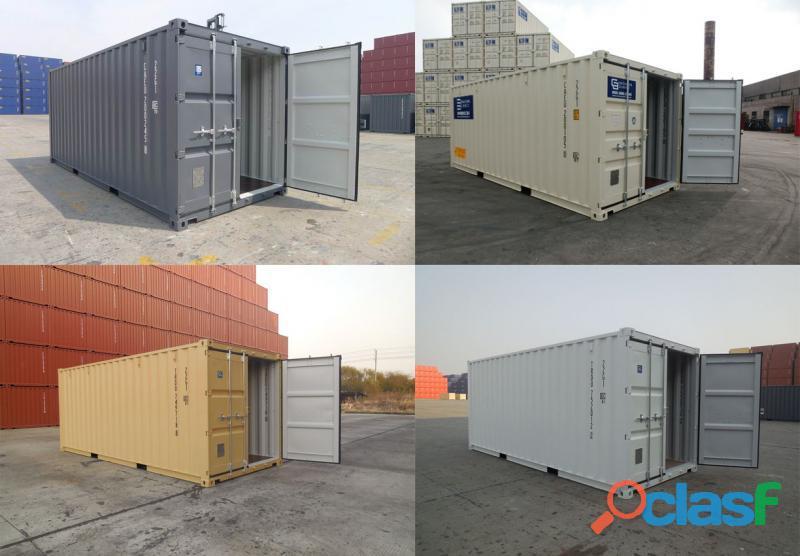 Contenedores ISO marítimos y refrigerados 2