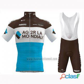 Maillot ciclista manga larga Ag2r La Mondiale | Maillot ciclista manga corta Ag2r La Mondiale