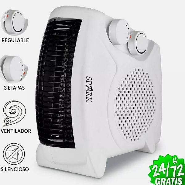 Calefactor eléctrico de aire 2000w radiador estufa