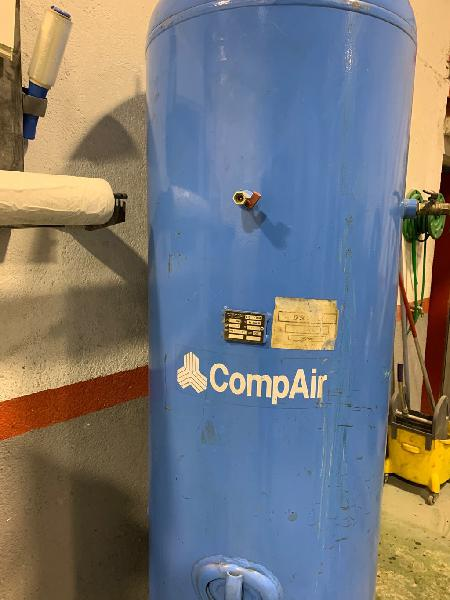 Compresor de tornillo compair con calderin 500 l