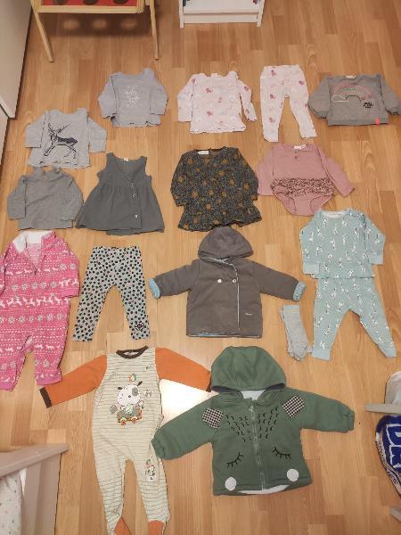 Espectacular lote ropa niña 9-12meses
