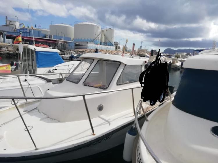 Embarcación, barco recreo y pesca