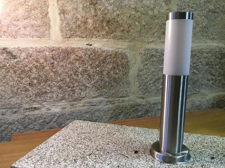 Farol exterior aluminio. baliza exterior