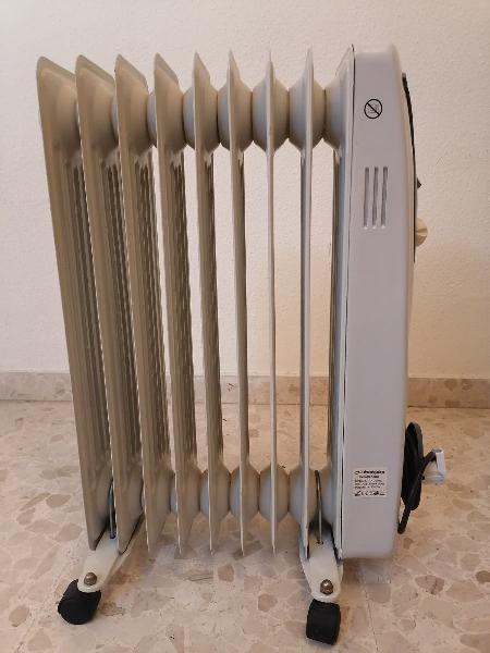 Radiador de aceite eléctrico de orbegozo 2000c.