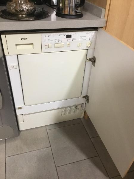 Secadora integrable que no está operativa