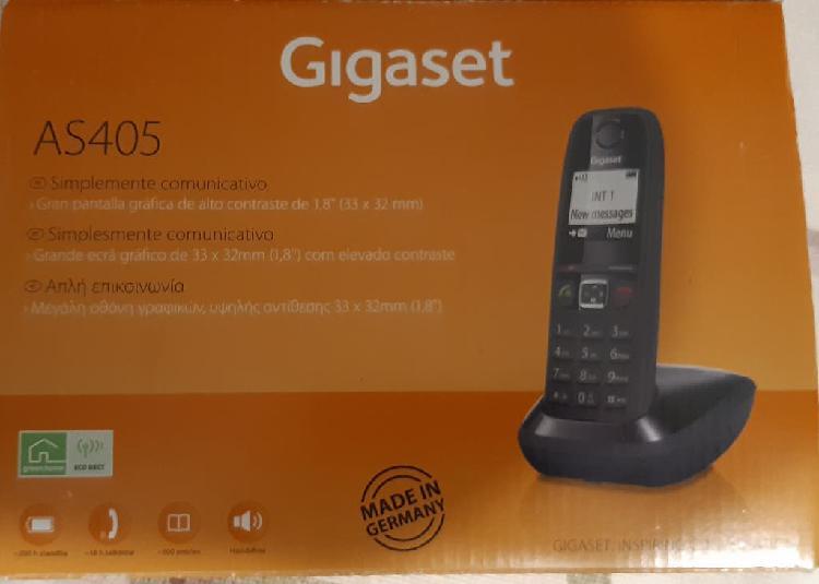 Teléfono inalámbrico gigaset as-405