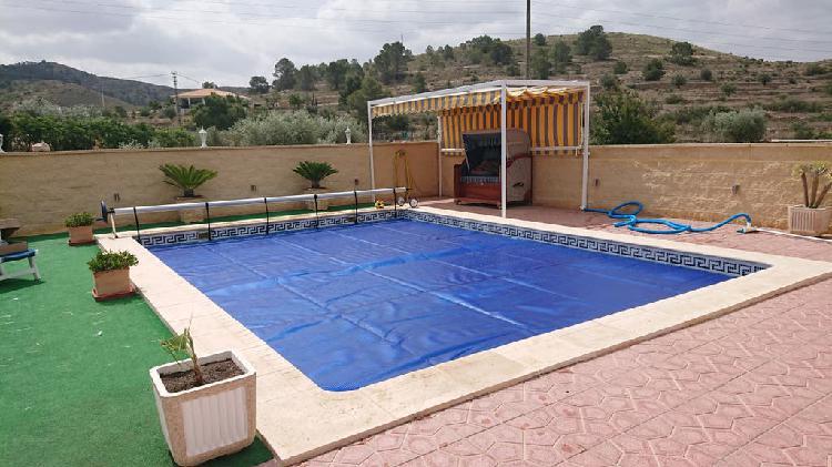 Lonas para calentar el agua de tu piscina