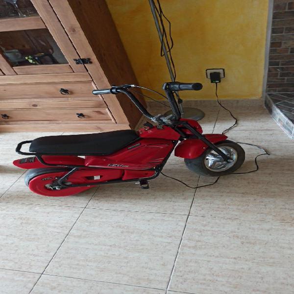 Mini moto electrica motor 250w 24v
