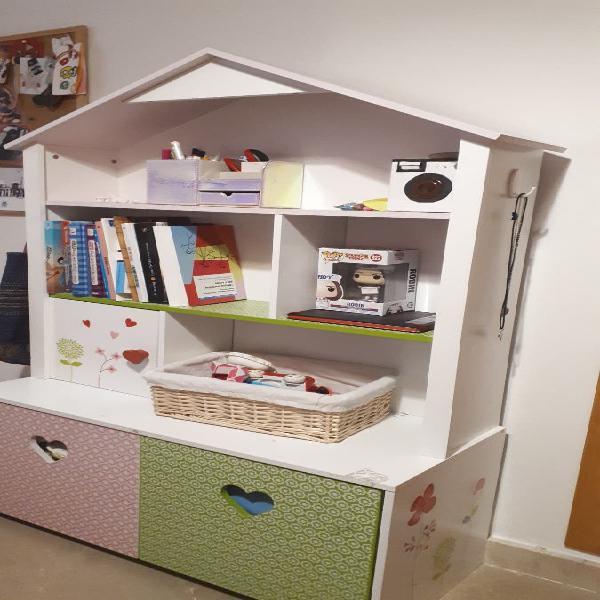 Mueble casita infantil