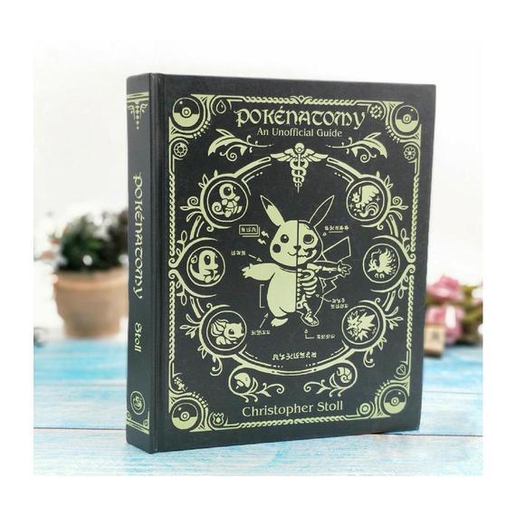 Fan-made,bookpokénatomy: la ciencia de pokémon (una guía