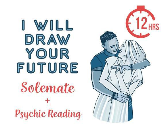 I will accurately draw your partner in 12 hours, psychic