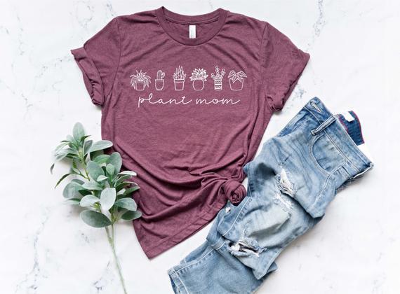 Planta mamá camisa / planta amante / planta camisa / regalo