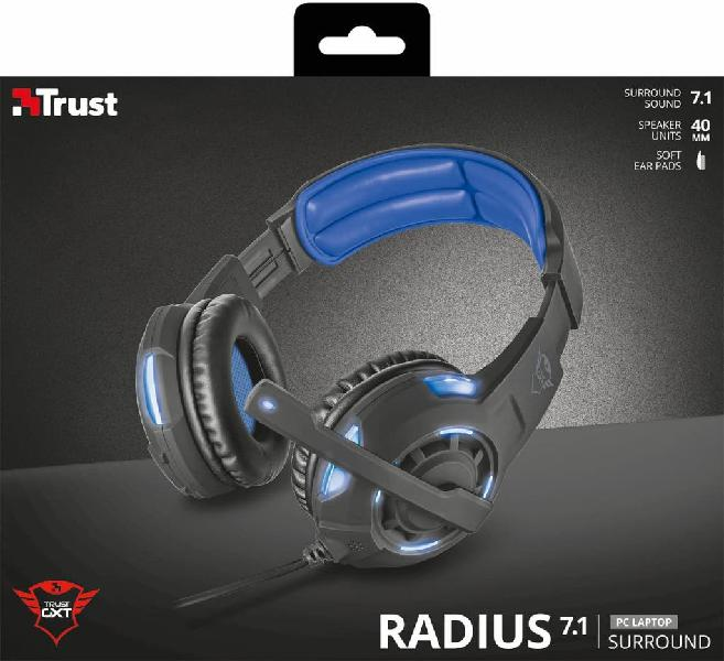 Auriculares gaming trust gxt 350 a,oc