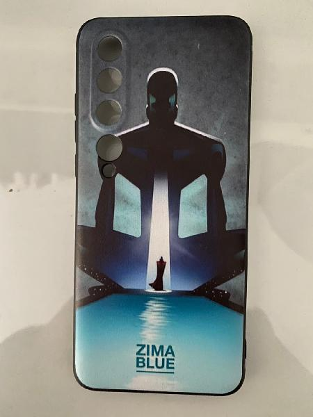 Carcasa love, dead & robots zima blue xiaomi 10