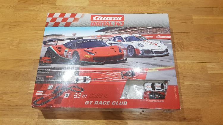 Carrera digital 143 gt race club completo.