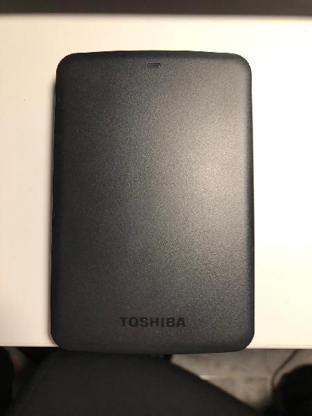 Disco duro externo toshiba - 1tb