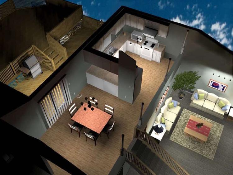 Diseño 3d de interiores