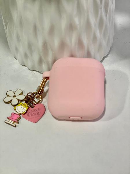 Funda airpods color rosa