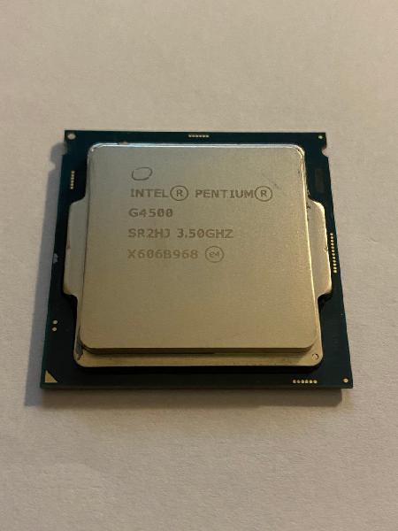 Intel pentium g4500 (2x 3.50ghz) cpu 1151