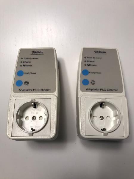 Movistar adaptadores plc ethernet con enchufe