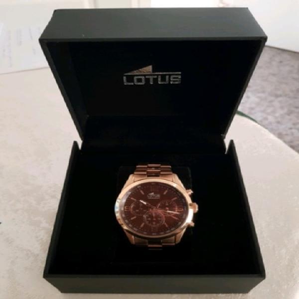 Reloj lotus 18154/2 oro rosa de hombre