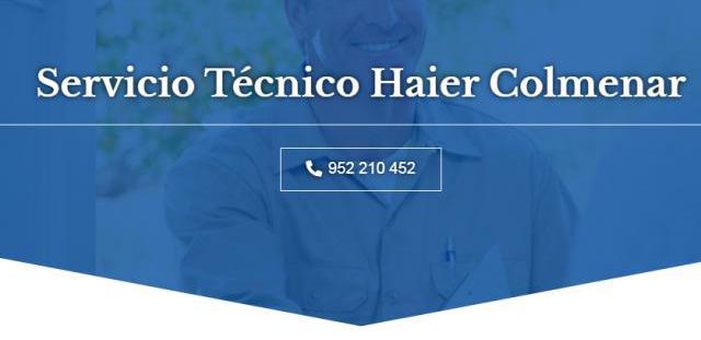 Servicio técnico haier colmenar 952210452