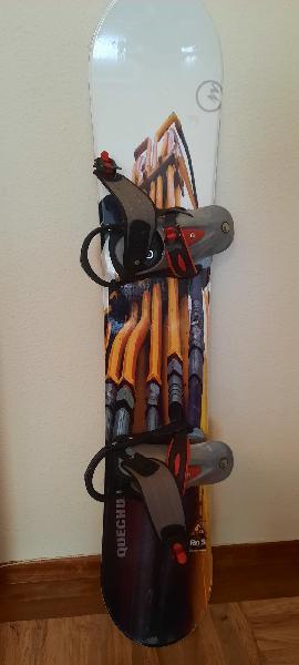 Tabla snowboard 148cm quechua rn's 2 con fijacione