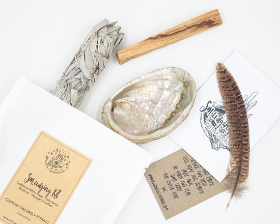 Kit de smudging • kit de manchas de salvia • regalo en