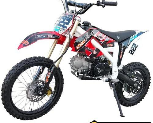 Pit bike 125cc xl kxd pro rojo