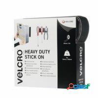 Cinta adhesiva extra fuerte 50mmx 5mt negro marca velcro® vel-ec60243