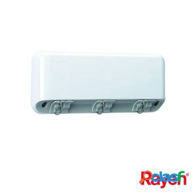 Tendedero pared d1 automatico 15mt pvc blanco rayen