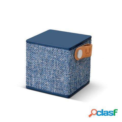Altavoz bluetooth cubo fresh'n rebel azul rockbox cube fabric edition indigo fnr