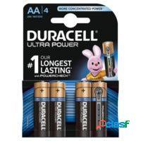 Pila alcalina lr06 aa 1,5v duracell 4 pz 5000394002562
