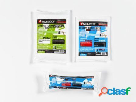Plastico protector grueso 04mtx05mt cubretodo miarco